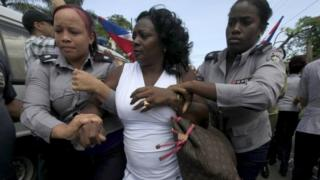 Berta Soler, leader of the Ladies in White