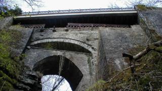 Devil's Bridge falls, near Aberystwyth, Ceredigion