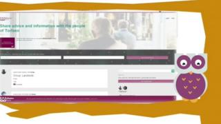 The 'Wisdom Bank' website was created to 'harness the skills of the 45 to 65 age group'