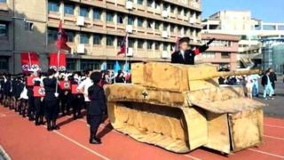 Mock Nazi rally in Taiwan school, 24 Dec