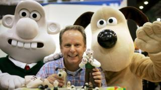 Nick Park and Wallace and Gromit