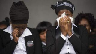Families of Marikana miners