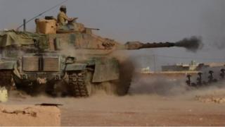Afrin, Azad Suriya ordusu, Türkiyə