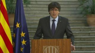 Hogaamiyihii Catalonia ee xilka laga qaaday