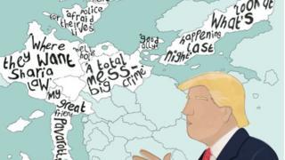 Ulimwengu wa rais Donald Trump wa Marekani