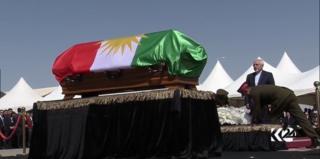 محمد جواد ظریف در مراسم جلال طالبانی