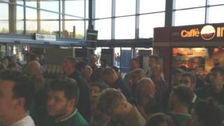 Passengers at Bristol Parkway