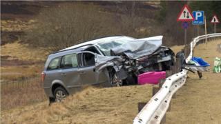 Car A9 crash