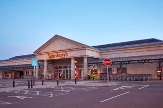 ai marketing 5g smartphones nanotechnology developments A view of the front of a Sainsbury's supermarket and an empty car park