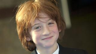 animals Raphael Coleman as a child during Nanny McPhee London Premiere