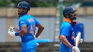 IND vs WI: மழையால் தடைப்பட்ட ஆட்டம், இறுதியில் வென்ற இந்தியா
