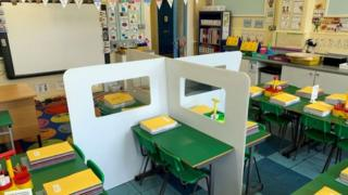 Schools have been preparing for the return of children