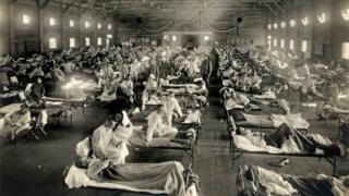 Spanish flu tent