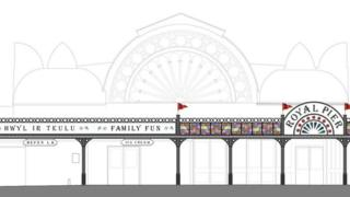 New designs for for Aberystwyth's pier