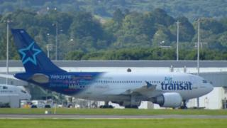 Air Transat flight