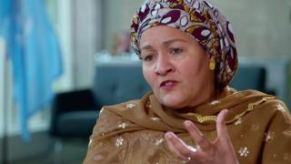 Amina Mohammed, vice-secretária-geral das Nações Unidas