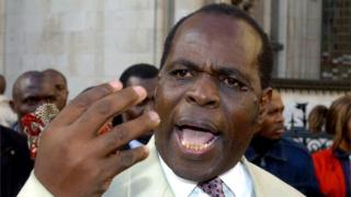 File photo dated 12/11/04 of Pastor Gilbert Deya, who has lost a High Court fight to stay in Britain