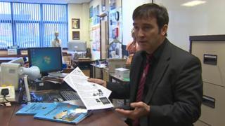 Teacher Chris Evans