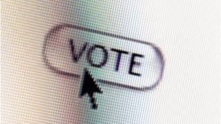 ఐ ఓటింగ్ ఇంటర్నెట్ ఓటింగ్ ఎన్నికల పోలింగ్ బ్యాలెట్ బాక్స్ క్యూ లైన్లు i voting Internet Voting Election Polling Ballot box queue line