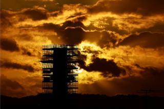 Chimney stack in Edinburgh