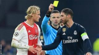 Sergio Ramos amaze gutwara igikombe cya Champions League inshuro enye ari kumwe n'ikipe ya Real Madrid