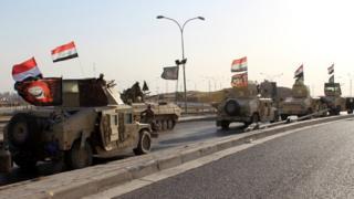 Bazar ertəsi İraq qüvvələri Kərkük şəhərini nəzarət altına alıblar