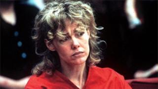 MARY KAY LETOURNEAU IN COURT, SEATTLE, AMERICA - 6 FEB 1998