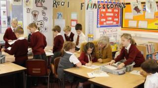 Children at Newick Primary School