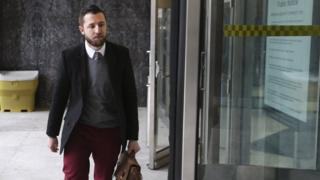 Vice journalist Ben Makuch heads into court