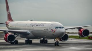 Virgin Atlantic Airbus A340-600