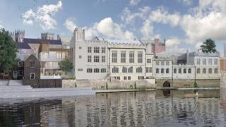 New plans for Guildhall