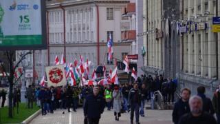 Шествие в Беларуси