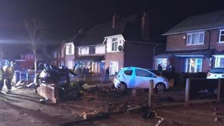 Walsall crash