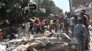भूकंप, मेक्सिको,