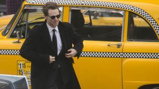 Benedict Cumberbatch in Glasgow