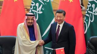 China, Saudi