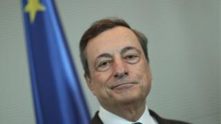 Mario Draghi, president of the ECB