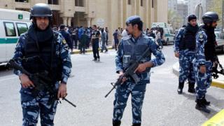نیروهای امنیتی کویت