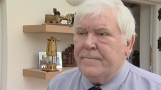Durham Miners' Association general secretary Dave Hopper