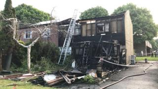 Andover house fire