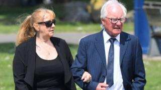 Syd Little and wife Sheree