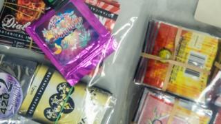 Legal high packets