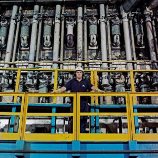 Paul Price, Production Operator and Team Leader, 38 years at the Works