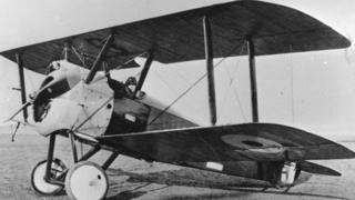 Sopwith Camel, um dos aviões de guerra mais usados na Primeira Guerra