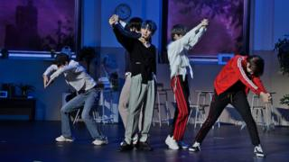 K-pop group TXT