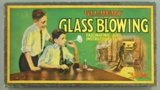 Advert for glass-blowing kit