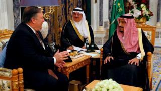 بومبيو يصل الرياض لبحث قضية خاشقجي