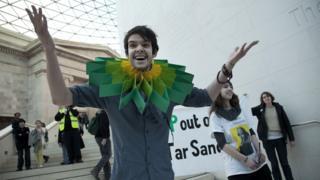 British Museum protest