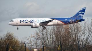 МС-21 в Жуковском