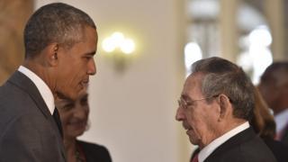 Обамам Кастро